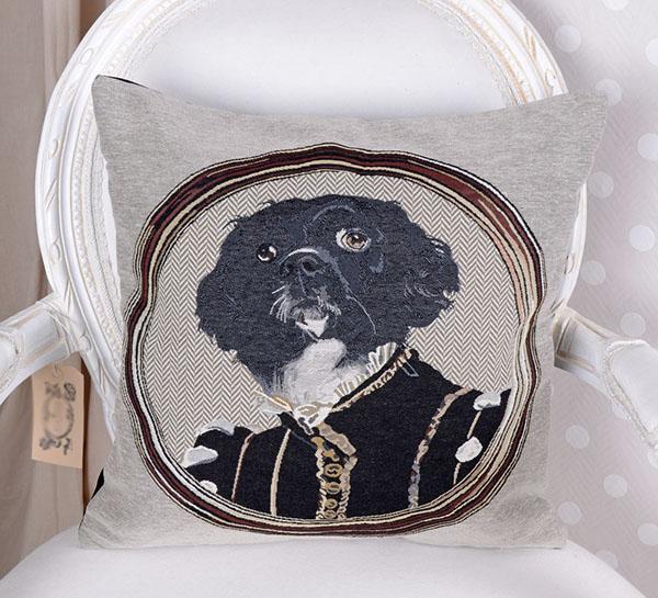 Pies Elegant Oryginalna Poduszka Dekoracyjna