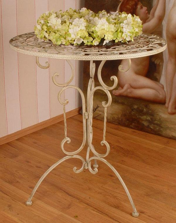 Romantyczny a urowy stolik ogrodowy for Art decoration pl