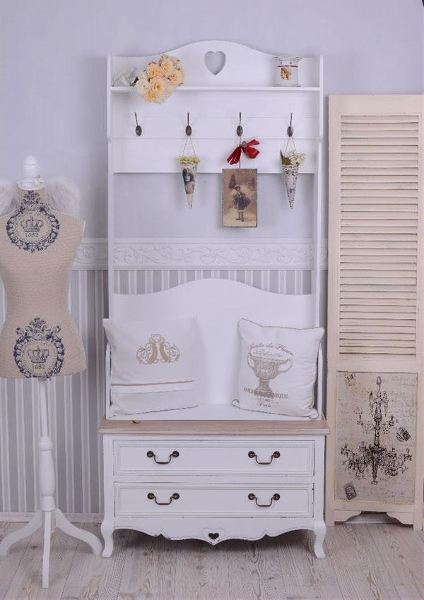 wysoka garderoba do przedpokoju w stylu rustykalnym. Black Bedroom Furniture Sets. Home Design Ideas