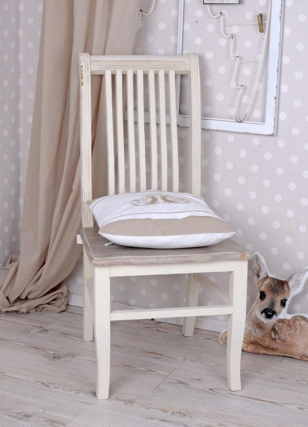 Krzesło Styl Rustykalny Shabby Chic