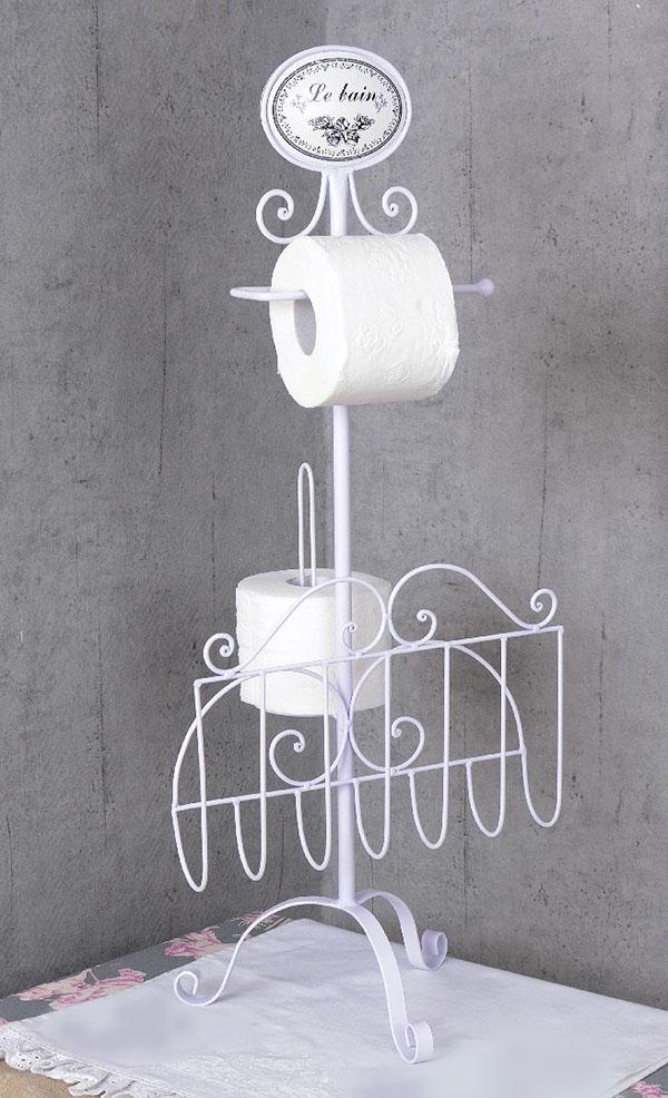 Stojak Na Papier Toaletowy Styl Prowansalski