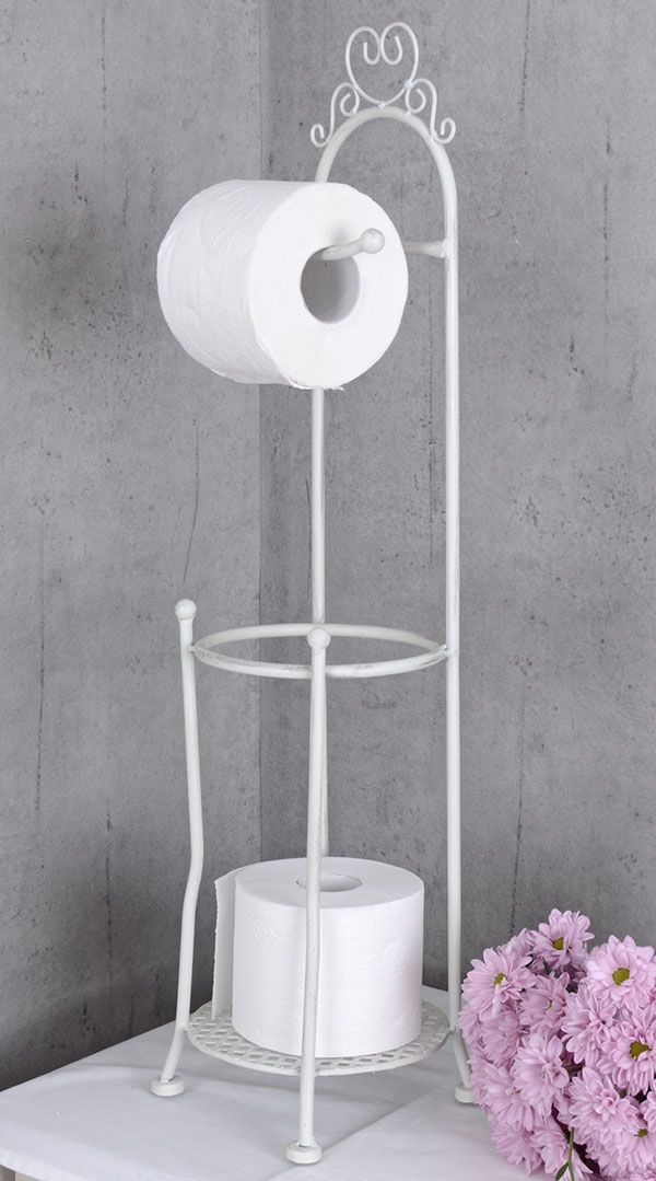 Wieszak Na Papier Toaletowy Z Motywem Serca