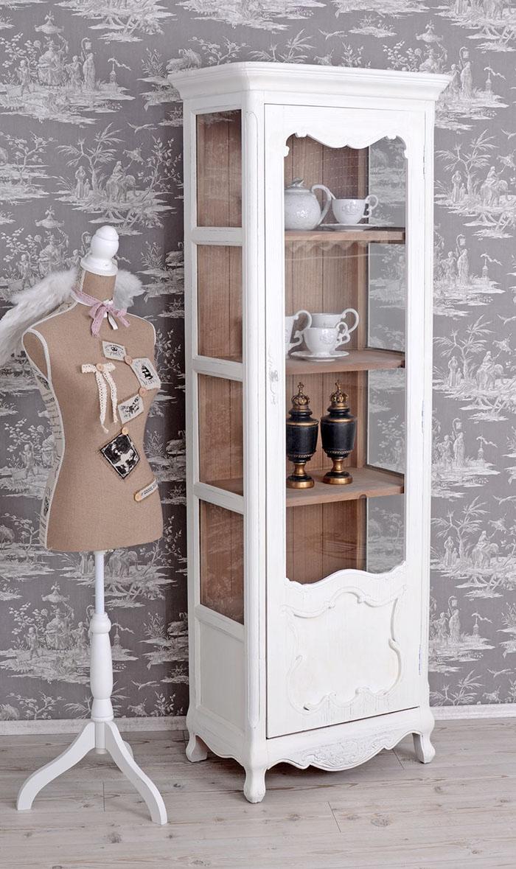 stylowa witryna w stylu shabby chic. Black Bedroom Furniture Sets. Home Design Ideas